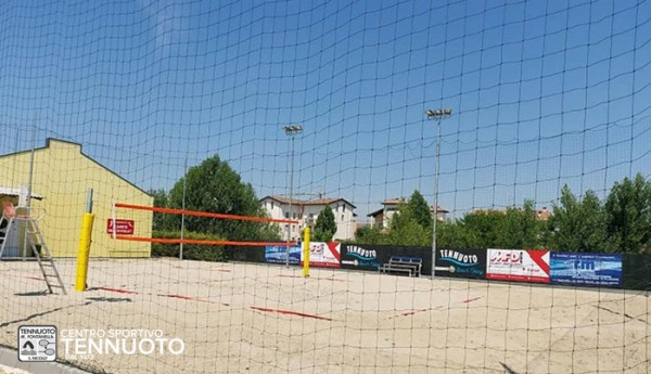 Campo beach volley Tennuoto